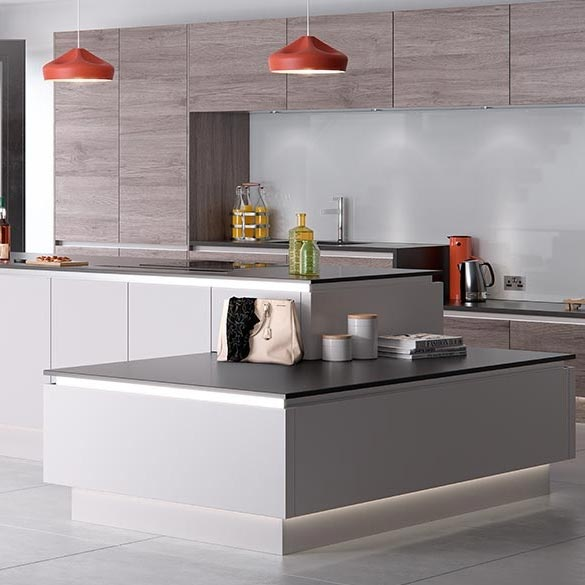 Handleless Kitchens From Britannia Design ...