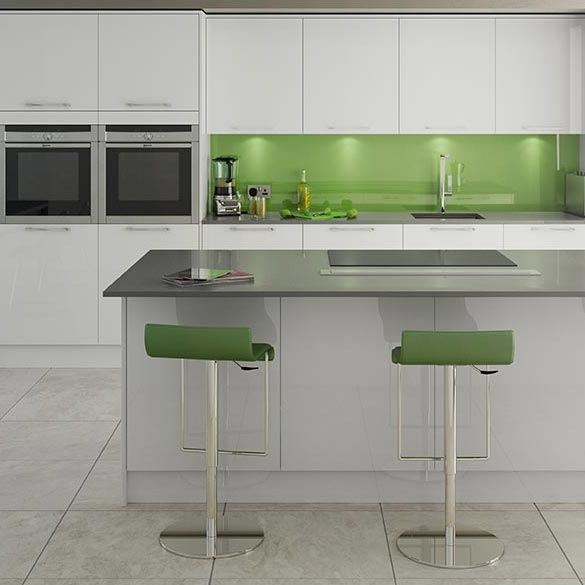 Modern U Shaped Kitchen With Handleless Cabinetry: Kitchens From Britannia Design. Modern, Shaker, Classic